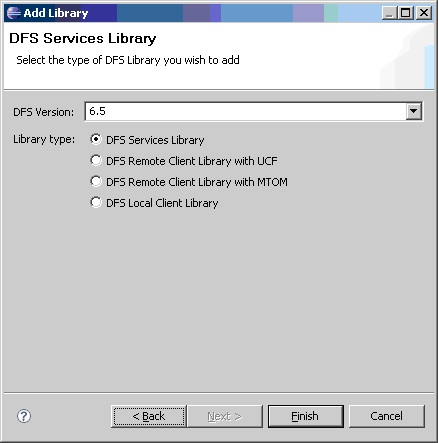 DFS  Services Library