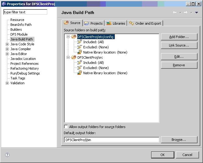 Java Build Project consumer